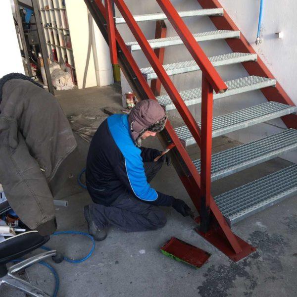 Lépcsőépítés - Steel City