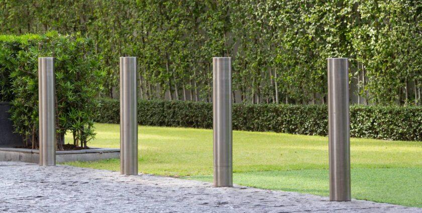 Lezáró oszlopok - terelőoszlopok - Steel City